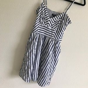 Express summer striped strappy dress (XS)